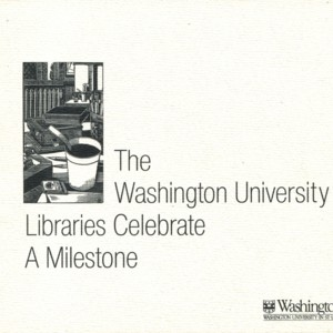 """Celebration of the Acquisition of the Three Millionth Volume"""