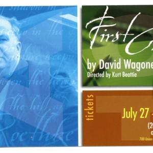 <em>First Class</em> by David Wagoner