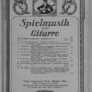2 Stücke für konzertierende Gitarre = 2 pezzi per chitarra concertante / M. Giuliani.