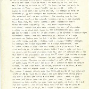 Summary of <em>J R</em> by William Gaddis
