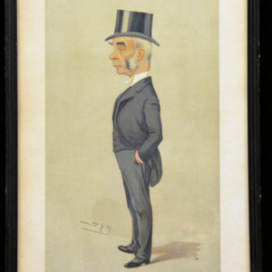 Washington University School of Law archives : legal portraits caricature