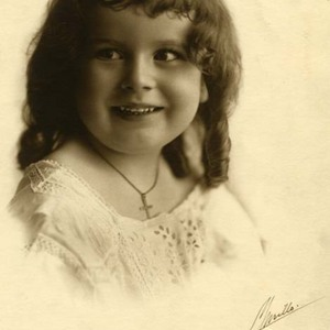Mary, age four.