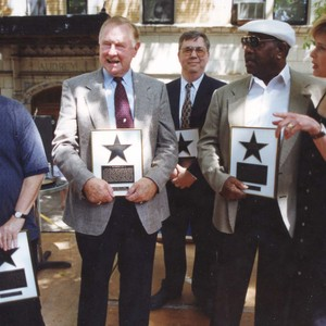 St. Louis Walk of Fame induction ceremony, May 17, 1998
