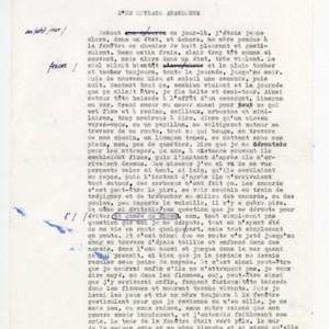 <em>D&rsquo;un ouvrage abandonn&eacute;</em> typescript
