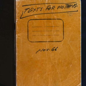 <em>Texts for Nothing</em>&nbsp;autograph drafts in notebook