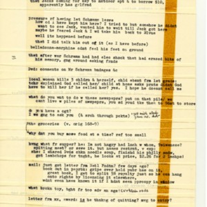<em>J R</em> by William Gaddis illustrating his cut-and-paste writing method