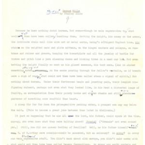 <em>The First George Mills</em> by Stanley Elkin