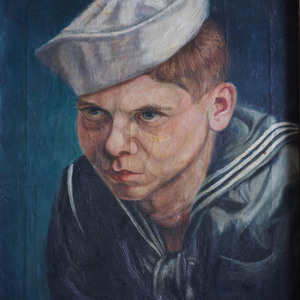 William H. Gass by R.A. Weld during World War II