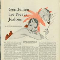 Gentleman Are Never Jealous