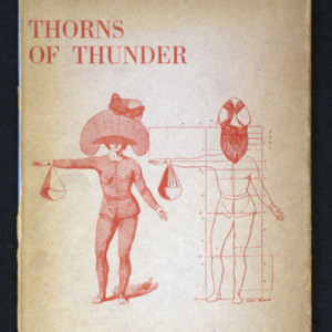 "<p class=""p1""><em>Thorns of thunder : selected poems / Paul &Eacute;luard</em></p>"