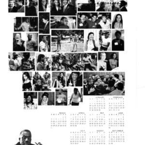 John B. Ervin Scholars The Class of 2013 calendar