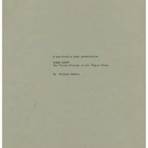 <em>A Non-Fiction Book Presentation, Agapé Agape, the Secret History of the Player Piano</em> by William Gaddis