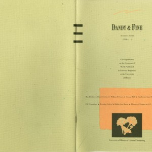 <em>Dandy & Fine, Accent to Ascent </em>- Exhibition Catalog