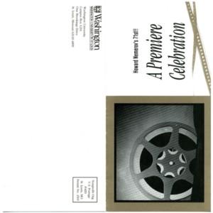 "Invitation to ""Howard Nemerov's 71st!! A Premiere Celbration"" featuring the national premiere of <em>Nemerov, Too</em>"