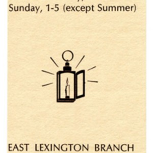 Cary Memorial Library in Lexington, Massachusetts bookmark featuring a quote by Howard Nemerov