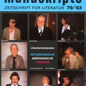 <em>Manuskripte</em>, Volume 79, 1983