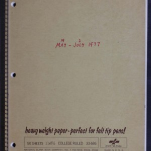 Merrill Ouija Notebook Material 125.2957
