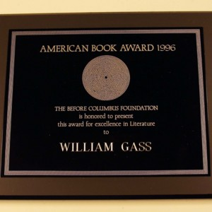 <p>American Book Award for <em>The Tunnel, </em>1996<br /><br /></p>