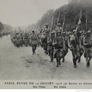 Paris Revue de 14 Juillet