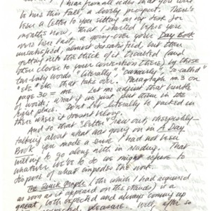 Autograph letter, signed from Robert Duncan to Robert Creeley, June 16, 1970