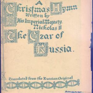 A Christmas hymn /