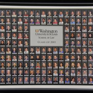 Washington University School of Law archives : photos of classes of graduates