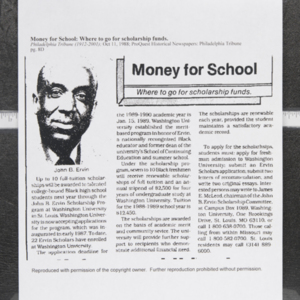 """Money for School: Where to go for scholarship funds."""