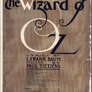 "Selection from Baum and Tietjens' musical extravaganza ""The Wizard of Oz"" /"