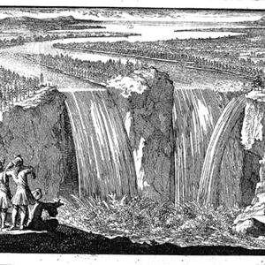 Nouvelle Decouverte d' un très grand Pays Situé dans l' Amérique, entre Le Nouveau Mexique, et La Mer Glaciale, Avec les Cartes, & les Figures necessaires, & de plus l' Histoire Naturelle et Morale, & les avantages qu' on en peut tirer par l' établissement des Colonies.