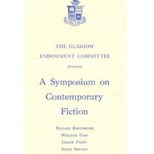 Washington and Lee University, A Symposium on Contemporary Fiction