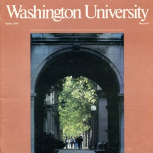 """Arts and Letters"" from <em>Washington University Magazine</em>"