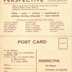 <em>Perpective</em> subscription card