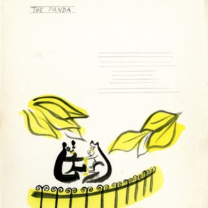 Illustrations by Juliet Kepes for <em>Laughing Time</em> by William Jay Smith.