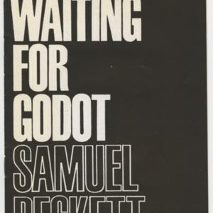 <span>Program for <em>Waiting for Godot</em></span>