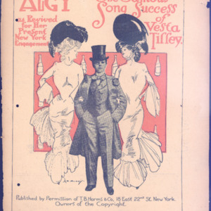 Algy : the famous song success of Vesta Tiffey : as revived for her present New York engagement /