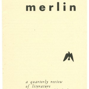 Prospectus for <em>Merlin</em>