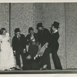 An unidentified French play at Washington University in St. Louis