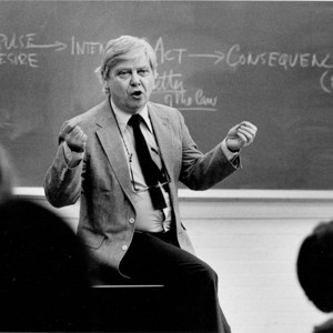 William H. Gass teaching