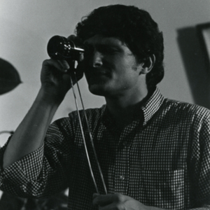 "Steve Carver during a studio shoot for production of ""More Than One Thing"""