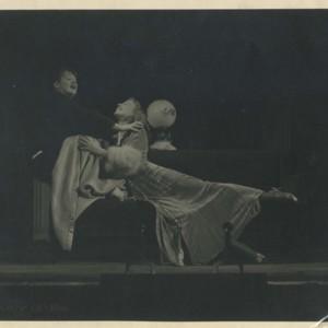 Isabella Gardner in an unidentified play in East Hampton, Long Island
