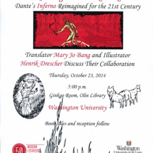 """Reading and Book Talk: Dante's Inferno Reimagined for the 21st Century"""