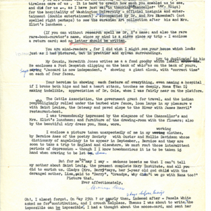 Typed letter, signed from Marianne Moore to Mona Van Duyn, June 8, 1967