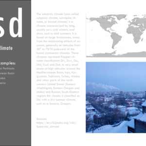Subarctic climate