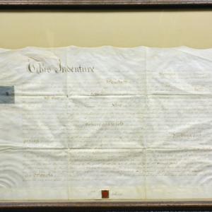Washington University School of Law archives : photos of indentures