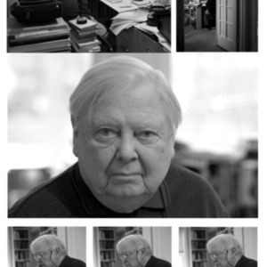 William H. Gass working at home, 2013