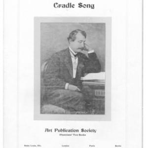 Cradle song : [op. 47] /