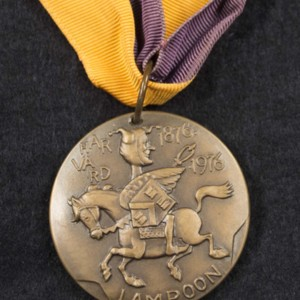 Harvard Lampoon Centennial Anniversary medallion