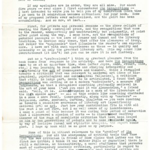 Typed letter, signed from Richard Hazelton to William Gaddis, May 30, 1961