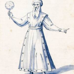 "Costume of the Allegorical Figure ""Astrology"""