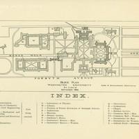 Washington University campus block plan